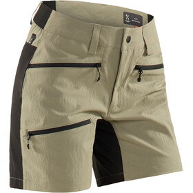 Haglöfs Rugged Flex Short Femme, lichen/true black